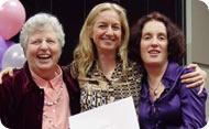 Anat Baniel, Lara, and Marcy Lindheimer