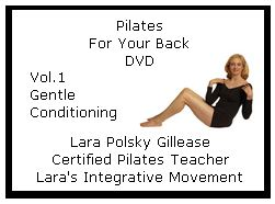 Pilates DVD Volume 1 Gentle Conditioning
