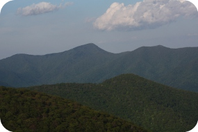 Mountains of Western North Carolina in Asheville